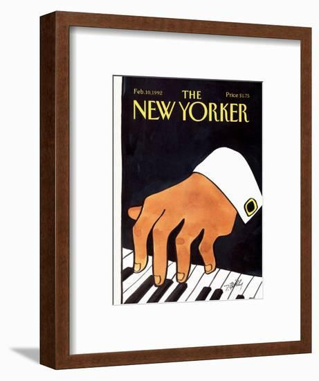 The New Yorker Cover - February 10, 1992-Donald Reilly-Framed Premium Giclee Print