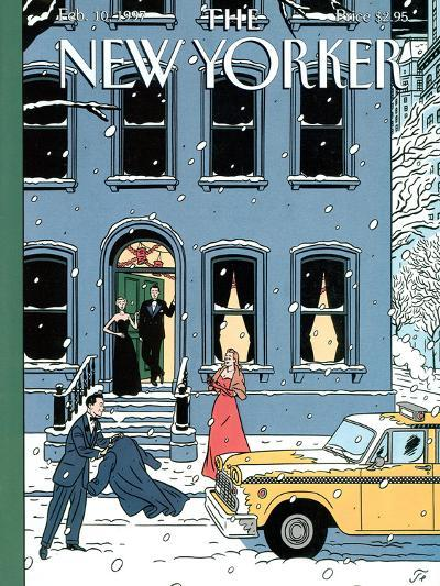 The New Yorker Cover - February 10, 1997-Jean Claude Floc'h-Premium Giclee Print