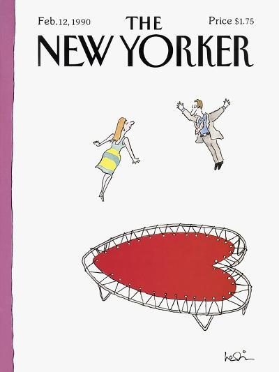 The New Yorker Cover - February 12, 1990-Arnie Levin-Premium Giclee Print