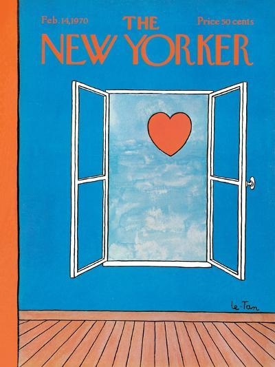 The New Yorker Cover - February 14, 1970-Pierre LeTan-Premium Giclee Print
