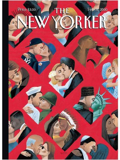 The New Yorker Cover - February 14, 2000-Mark Ulriksen-Premium Giclee Print