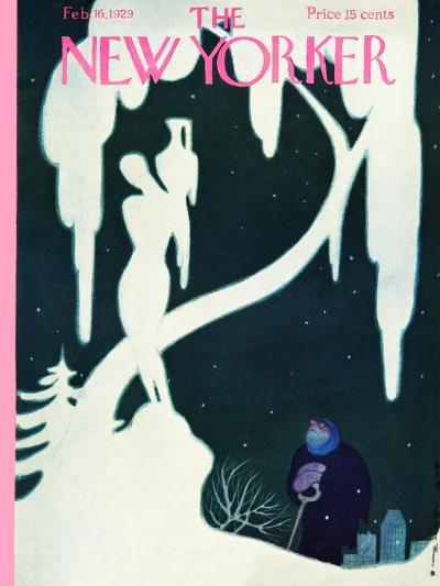 The New Yorker Cover - February 16, 1929-Rea Irvin-Premium Giclee Print