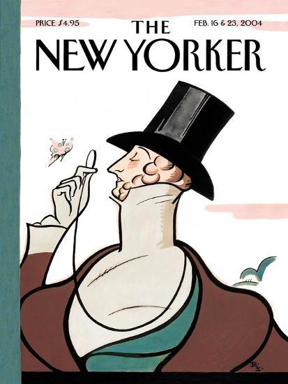 The New Yorker Cover - February 16, 2004-Rea Irvin-Premium Giclee Print