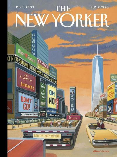 The New Yorker Cover - February 2, 2015--Premium Giclee Print