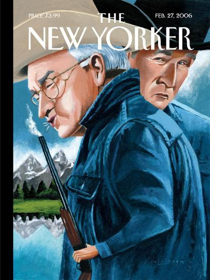 The New Yorker Cover - February 27, 2006-Mark Ulriksen-Premium Giclee Print