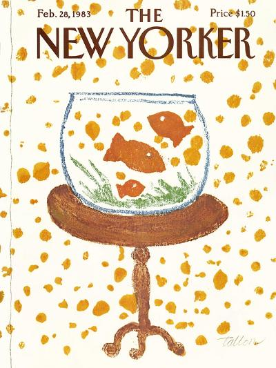 The New Yorker Cover - February 28, 1983-Robert Tallon-Premium Giclee Print