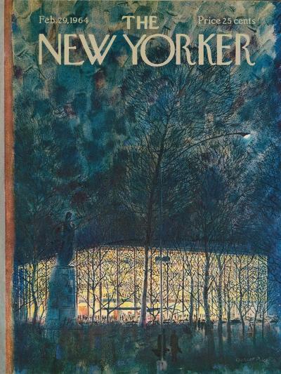 The New Yorker Cover - February 29, 1964-Garrett Price-Premium Giclee Print
