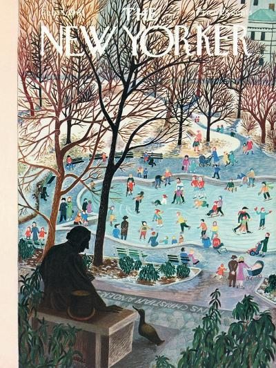 The New Yorker Cover - February 4, 1961-Ilonka Karasz-Premium Giclee Print