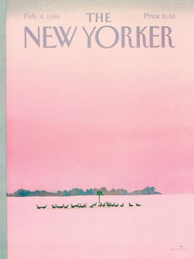 The New Yorker Cover - February 4, 1985-Susan Davis-Premium Giclee Print
