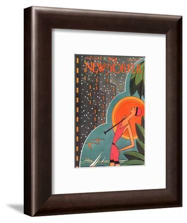 The New Yorker Cover - February 5, 1927-H.O. Hofman-Framed Premium Giclee Print