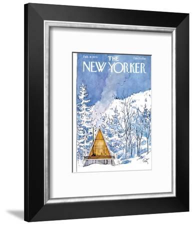 The New Yorker Cover - February 6, 1978-Arthur Getz-Framed Premium Giclee Print
