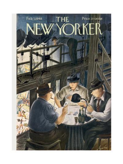 The New Yorker Cover - February 7, 1948-Constantin Alajalov-Premium Giclee Print