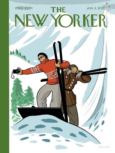 The New Yorker Cover - January 11, 2010-Jan Van Der Veken-Premium Giclee Print