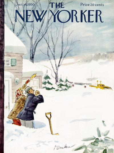 The New Yorker Cover - January 14, 1950-Perry Barlow-Premium Giclee Print