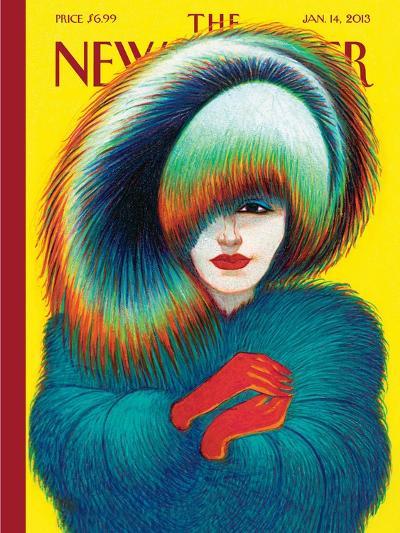 The New Yorker Cover - January 14, 2013-Lorenzo Mattotti-Premium Giclee Print