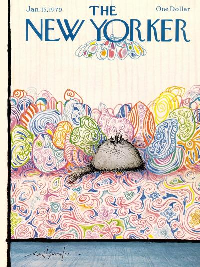 The New Yorker Cover - January 15, 1979-Ronald Searle-Premium Giclee Print