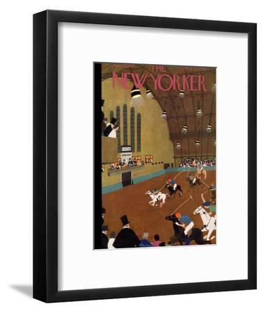 The New Yorker Cover - January 20, 1934-Adolph K. Kronengold-Framed Premium Giclee Print