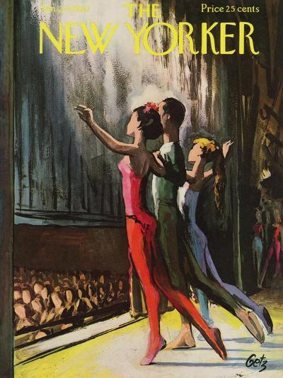 The New Yorker Cover - January 20, 1962-Arthur Getz-Premium Giclee Print