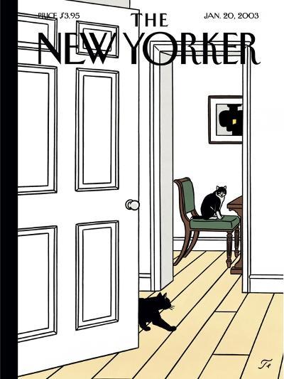 The New Yorker Cover - January 20, 2003-Jean Claude Floc'h-Premium Giclee Print