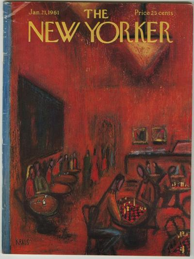 The New Yorker Cover - January 21, 1961-Robert Kraus-Premium Giclee Print