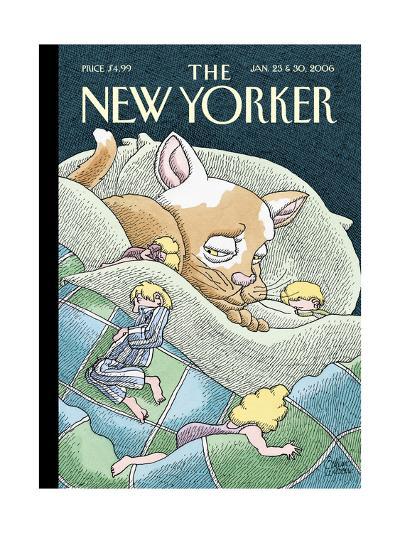 The New Yorker Cover - January 23, 2006-Gahan Wilson-Premium Giclee Print