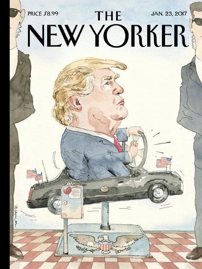 The New Yorker Cover - January 23, 2017-Barry Blitt-Premium Giclee Print