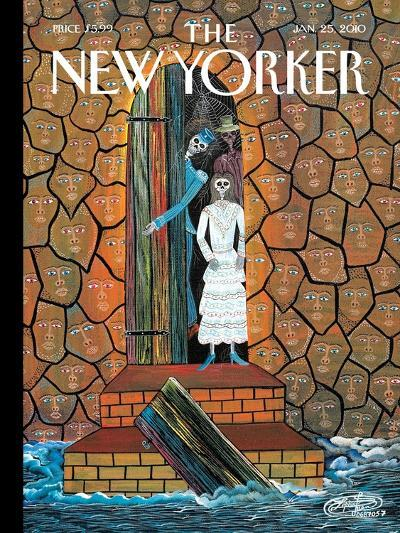 The New Yorker Cover - January 25, 2010-Frantz Zephirin-Premium Giclee Print