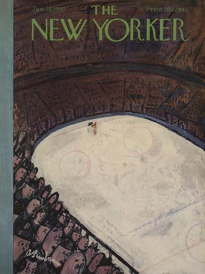 The New Yorker Cover - January 28, 1950-Abe Birnbaum-Premium Giclee Print