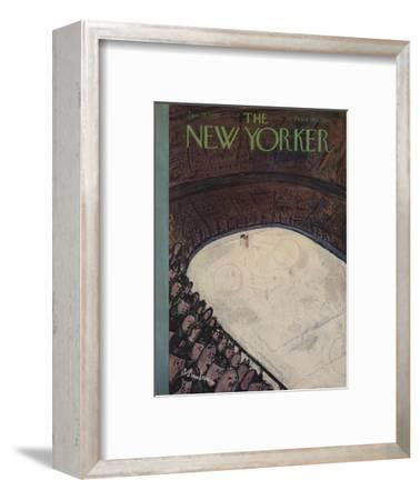 The New Yorker Cover - January 28, 1950-Abe Birnbaum-Framed Premium Giclee Print