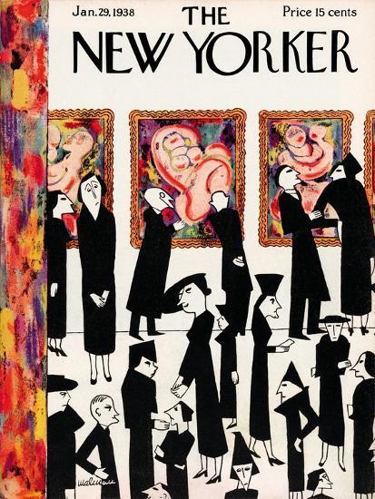 The New Yorker Cover - January 29, 1938-Christina Malman-Premium Giclee Print