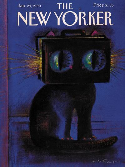 The New Yorker Cover - January 29, 1990-Andre Francois-Premium Giclee Print