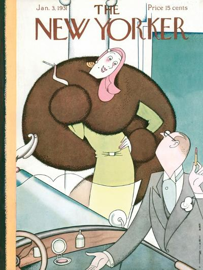 The New Yorker Cover - January 3, 1931-Rea Irvin-Premium Giclee Print