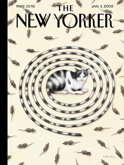 The New Yorker Cover - January 3, 2005-G?rb?z Dogan Eksioglu-Premium Giclee Print