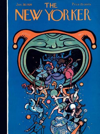 The New Yorker Cover - January 30, 1926-Rea Irvin-Premium Giclee Print