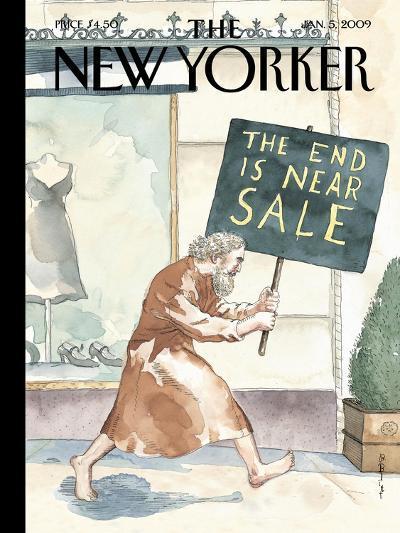 The New Yorker Cover - January 5, 2009-Barry Blitt-Premium Giclee Print