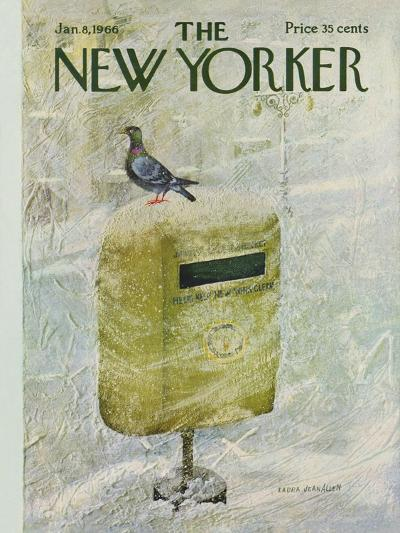 The New Yorker Cover - January 8, 1966-Laura Jean Allen-Premium Giclee Print