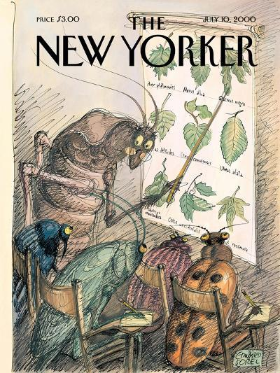 The New Yorker Cover - July 10, 2000-Edward Sorel-Premium Giclee Print