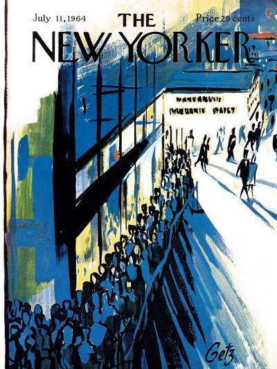 The New Yorker Cover - July 11, 1964-Arthur Getz-Premium Giclee Print