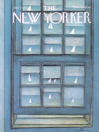 The New Yorker Cover - July 11, 1977-Andre Francois-Premium Giclee Print