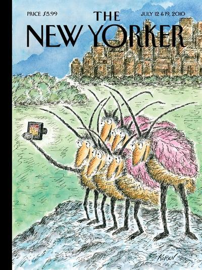 The New Yorker Cover - July 12, 2010-Edward Koren-Premium Giclee Print