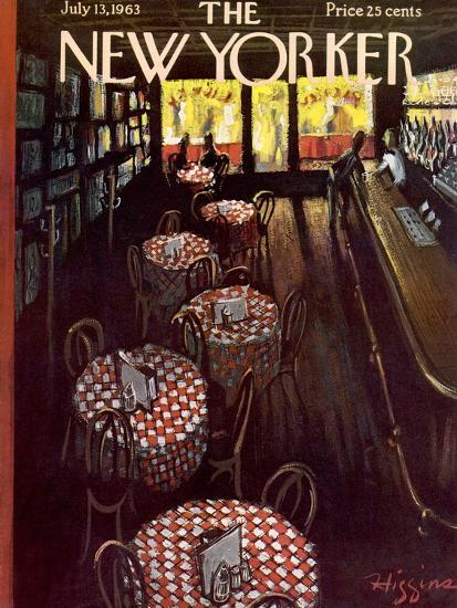 The New Yorker Cover - July 13, 1963-Donald Higgins-Premium Giclee Print