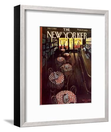 The New Yorker Cover - July 13, 1963-Donald Higgins-Framed Premium Giclee Print
