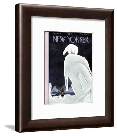 The New Yorker Cover - July 14, 1934-Rea Irvin-Framed Premium Giclee Print
