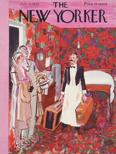 The New Yorker Cover - July 15, 1933-Garrett Price-Premium Giclee Print
