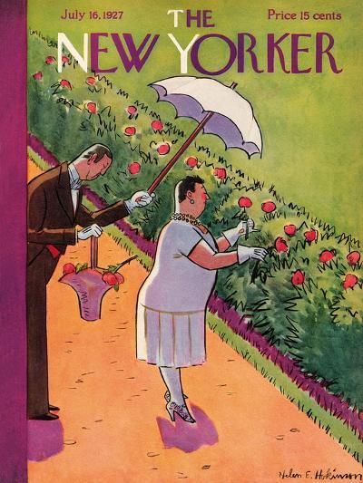 The New Yorker Cover - July 16, 1927-Helen E. Hokinson-Premium Giclee Print