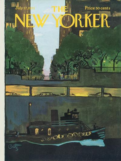 The New Yorker Cover - July 17, 1971-Arthur Getz-Premium Giclee Print