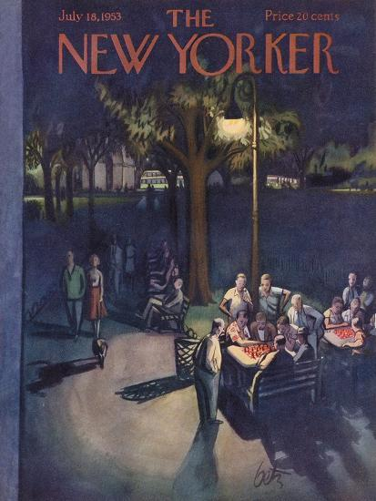 The New Yorker Cover - July 18, 1953-Arthur Getz-Premium Giclee Print