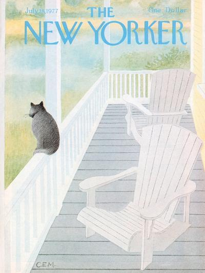 The New Yorker Cover - July 18, 1977-Charles E. Martin-Premium Giclee Print