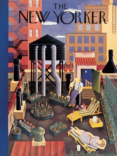 The New Yorker Cover - July 19, 1941-Ilonka Karasz-Premium Giclee Print