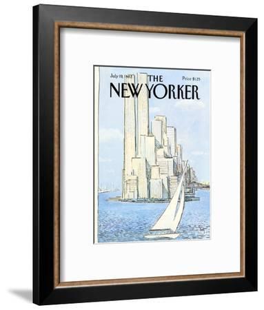 The New Yorker Cover - July 19, 1982-Arthur Getz-Framed Premium Giclee Print